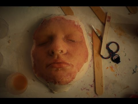 DIY 'Face Mask' - silicone face special effects makeup