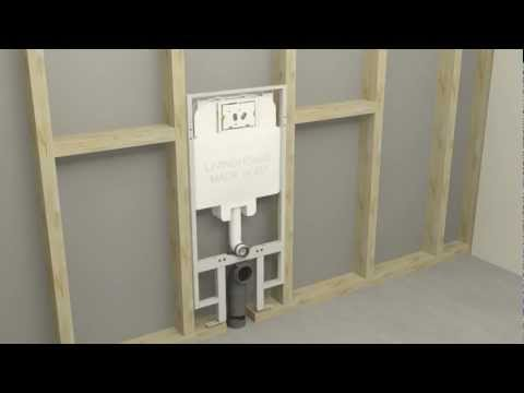Fitting and Installation of Concealed Cisterns for Wall Hung Toilets
