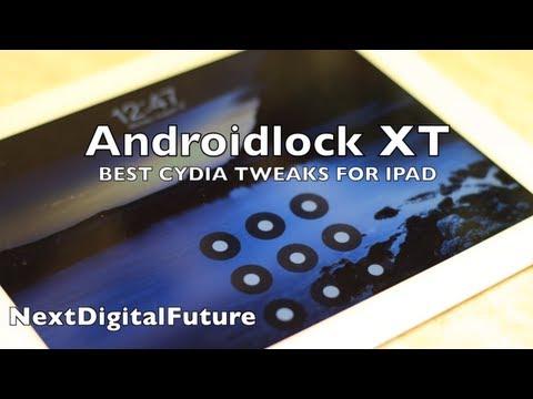★ Best Cydia Tweak for iPad - AndroidLockXT