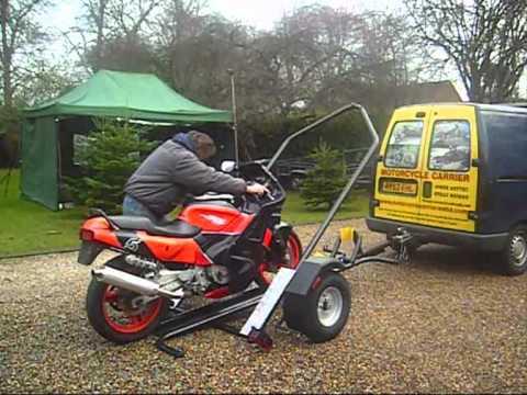 MOTORCYCLE TILT TRAILER 1.