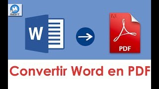 Convertir Word En Pdf == Rapidement