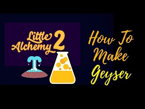 Little Alchemy 2-How To Make Geyser Cheats & Hints