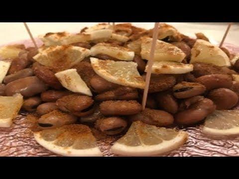 Foul w hamod - Cooking dry fava beans - فول وحامض على الطريقة اللبنانية