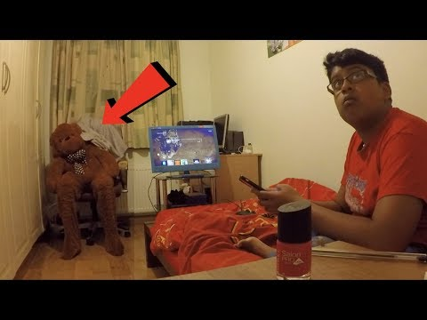 Moving Teddy Bear Scare Prank On Little Brother *BACKFIRES*