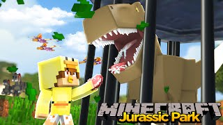 MINECRAFT ADVENTURE- VISITING JURASSIC PARK