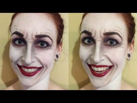Classic Joker Makeup Tutorial