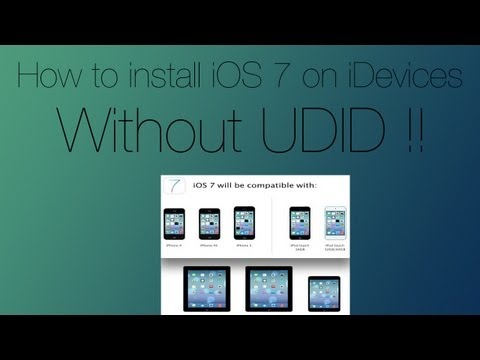How To Install  iOS 7 Beta 5 (FREE) without UDID