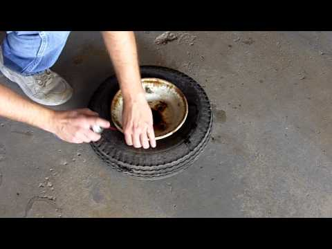 Sealing A Tubless Tire Video