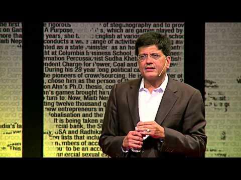 Let's work towards bringing back the Golden Era of India | Piyush Goyal | TEDxGateway