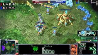 Jadaba (P) VS FireToBlaze (Z) -- Starcraft 2 [LAGTV]