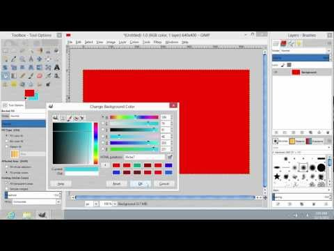 How to Flip Colors in GIMP
