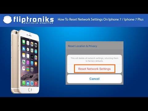 How To Reset Network Settings On Iphone 7 / Iphone 7 Plus - Fliptroniks.com