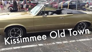 Classic Car Saturday Night Cruise Old Town Kissimmee Florida - Kissimmee car show saturday