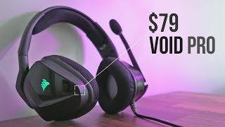 234611250b3 corsair void pro surround gaming headset dolby 7.1 surround sound ...