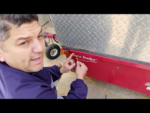 How to add and wire a trailer light