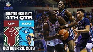 UP Vs AdU October 20 2019 4th Quarter Highlights UAAP 82 MB