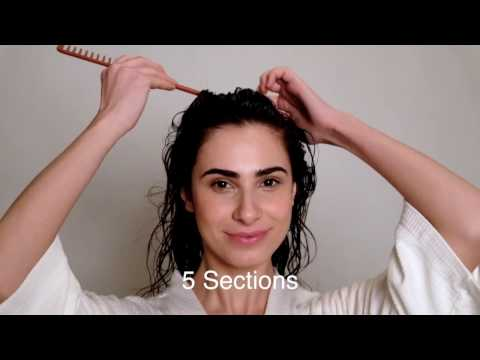 How to Style Naturally Curly Hair - Wavy to Loose Curls Tutorial