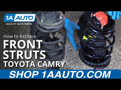 How to Replace and Install Front Struts 97-01 Toyota Camry