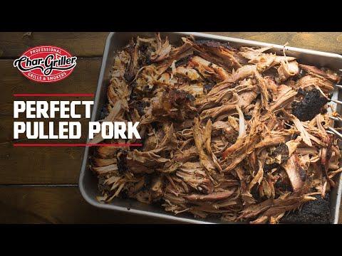 Char-Griller Pulled Pork