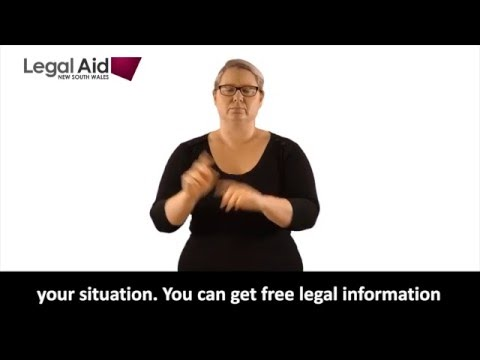 Separation and Divorce (in Auslan)