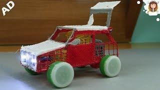 Como Fazer Um Carrinho Elétrico - Caneta 3d - Brinquedo