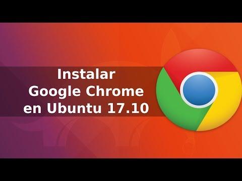 Instalar Google Chrome en Ubuntu 17.10