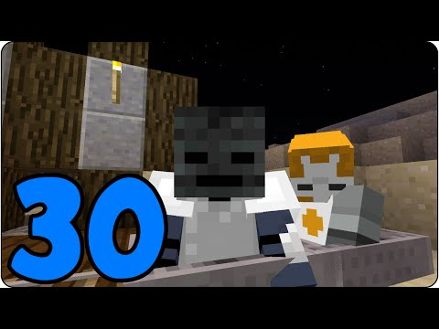 Minecraft PS4 Survival Island Episode 30 - Powered Rail Bridge  - Let's Play Console Edition
