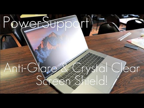 BEST MacBook Pro Screen Shield? -PowerSupport Anti-Glare / Crystal Clear - Touch Bar MacBook Pro