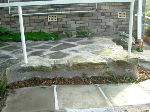 Building a rock path 2