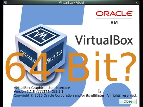 How To Get 64-Bit To Work On A Virtual Machine (Oracle VirtualBox)