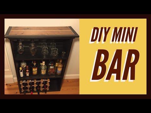 How To Build A Mini Bar DIY