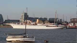 Ship video - Danish Royal Yacht