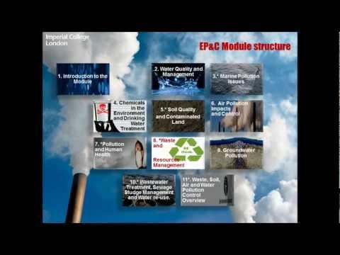 Environmental Pollution & Control Module, Core Course
