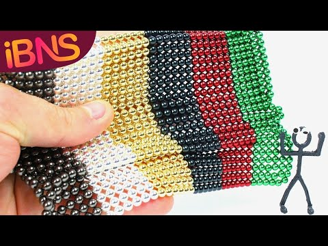 Playing with 1000 mini magnetic balls! (pt. 4, satisfying buckyballs and ASMR)