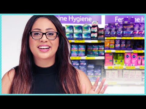 FIRST TIME BUYING TAMPONS! w/ akaydoll