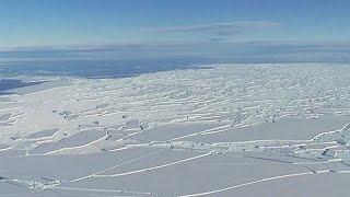 Vast iceberg poised to break off from Antarctic shelf