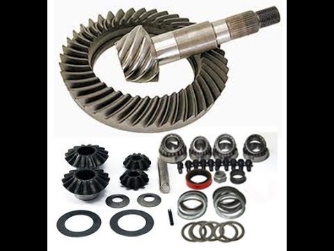 Choose Correct Tire Size, Ring & Pinion