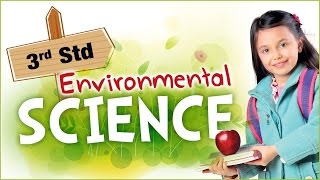 EVS For Class 3   Learn Science For Kids   Environmental Science   Science For Class 3