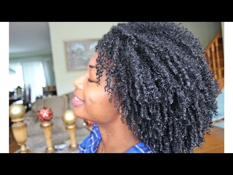WASH AND GO ON TYPE 4 NATURAL HAIR