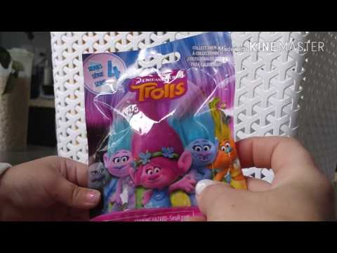 Troll mystery pack and Tsum Tsum mystery pack