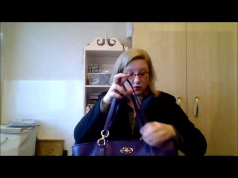 Thrift haul ~ Designer Bag Haul - New Coach Bags!  1 13 15