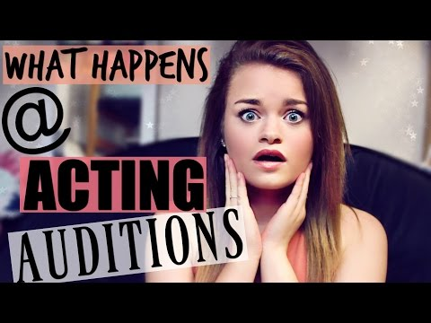 What Happens at Acting Auditions!