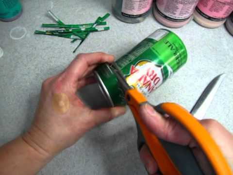 How to Cut an Aluminum Can
