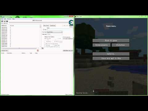 Minecraft material hack tutorial