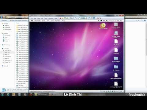 Virtualize Mac OS X Lion On Windows - 02 Make Lion Boot Disk (HD)