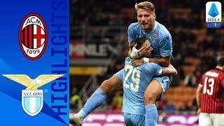 Milan 1-2 Lazio   Immobile on Target as Correa Scores Winner   Serie A