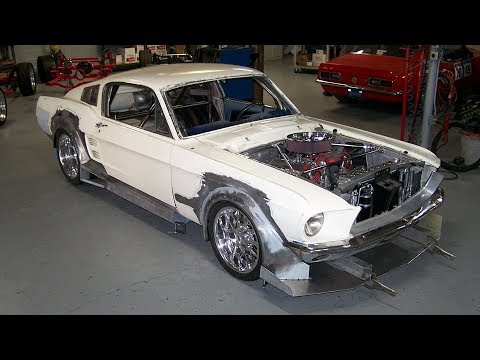 1967 Ford Mustang Fastback - Widebody 570HP T56 Build Project