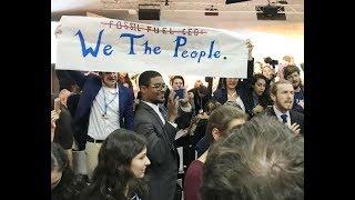Special Report: Revolt at Trump's Pro-Coal, Pro-Nuclear & Pro-Gas Panel Rocks U.N. Climate Summit