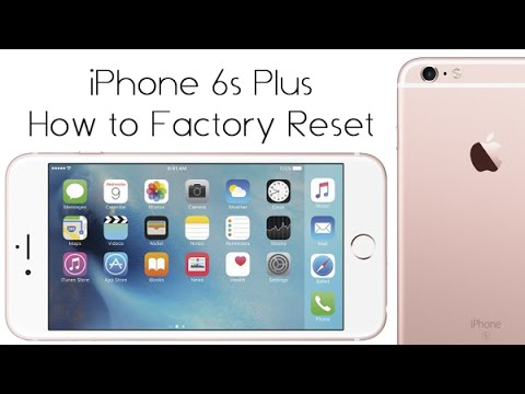 iPhone 6s Plus - How to Reset Back to Factory Settings | H2TechVideos