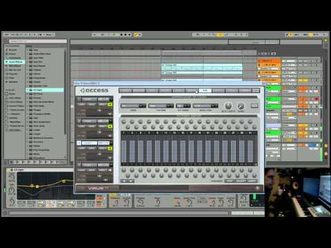 Ableton Live 9 - Making A Full Trance Track Start To Finish